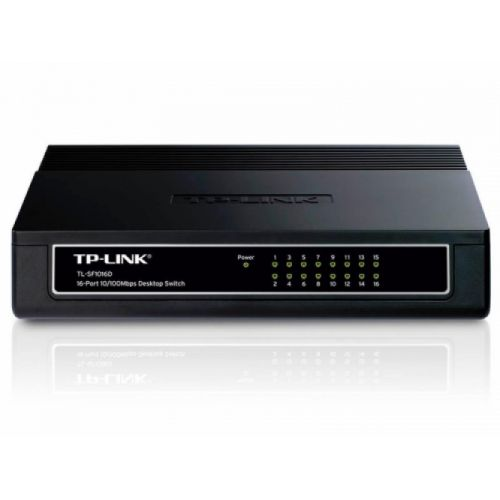 TP-LINK TL-SF1016D 16-port 10/100Mbps mrežno stikalo-switch
