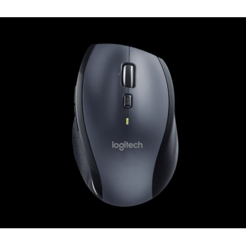 Miška Logitech M705 Wireless, unifying, temno siva