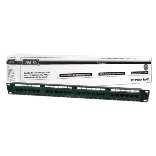Patch panel 24port UTP Cat.6 1U