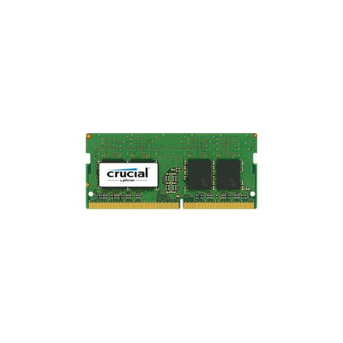 RAM SODIMM DDR4 4GB PC4-19200 2400MT/s CL17 SR x8 1.2V Crucial
