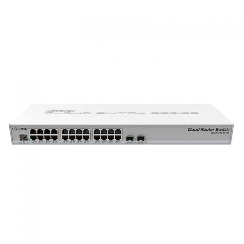 MIKROTIK Cloud Router Switch CRS326-24G-2S+RM 24-portno 2x SFP+ Dual boot stikalo