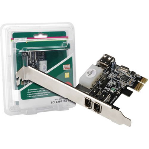 PCI Express FirewireCard 3Port